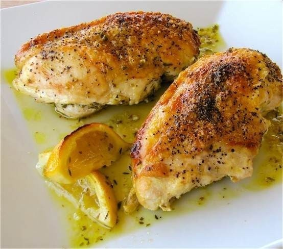 Flavorful Baked Lemon Chicken